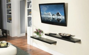 LCD-Television-wall-mounted-decorating-style