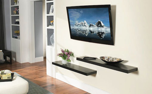 Impressive media communications impressive antennas for Wall mounted tv designs living room